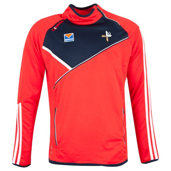 O'Neills Louth Conall Men's Side Zip Top, Red