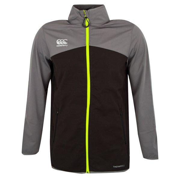 Canterbury Soft Shell Thermoreg Men's Jacket, Black