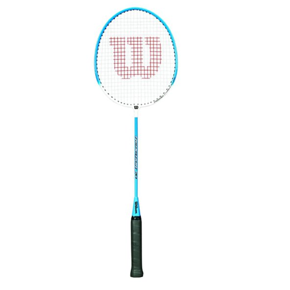 Wilson Reaction 70 Badminton Rkt Blu/Wht