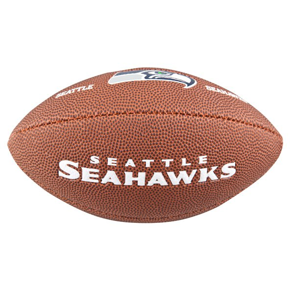 Wilson NFL Seahawks Mini Ball Brown