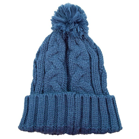 Riptear Bobble Knitted Women's Beanie, Navy