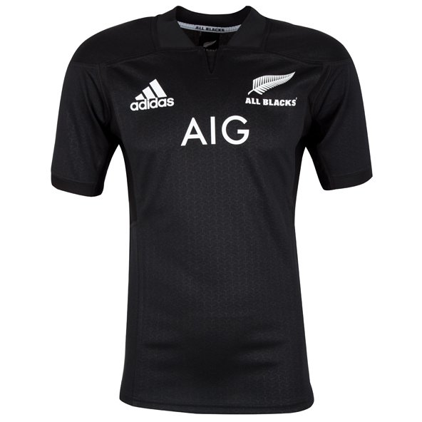 adidas All Blacks 2017 Kids' Home Jersey, Black