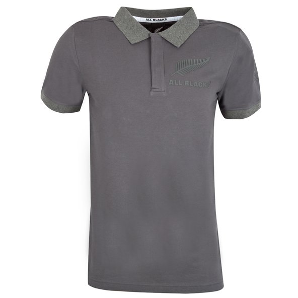 adidas All Blacks Anthem Polo, Grey