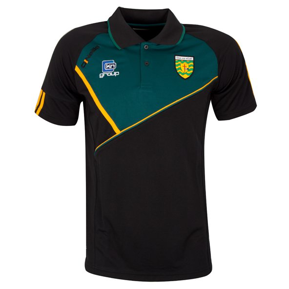 O'Neills Donegal Conall Polo Blk/Grn/Amb