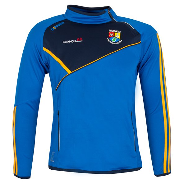 O'Neills Longford Conall Kids' Side Zip Top, Blue