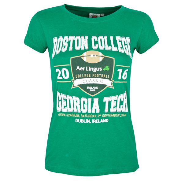 Aer Lingus Classic Friendship Women's T-Shirt, Green