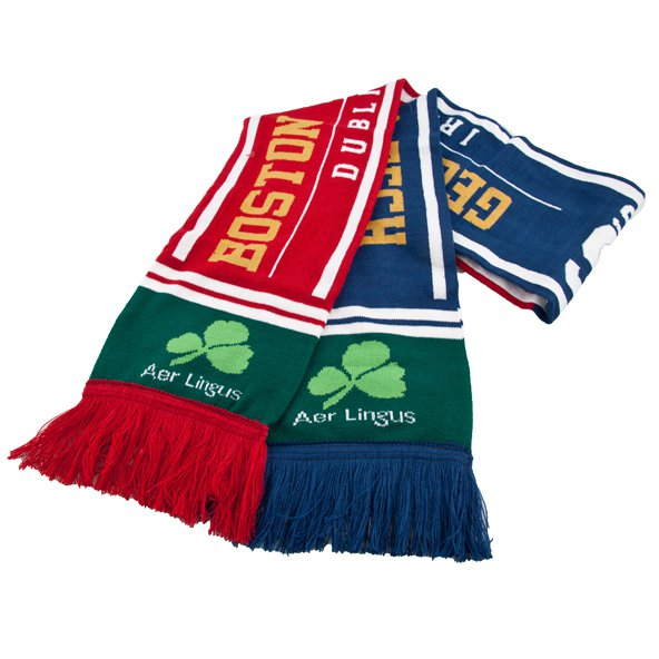 Aer Lingus Classic Friendship Scarf, Green