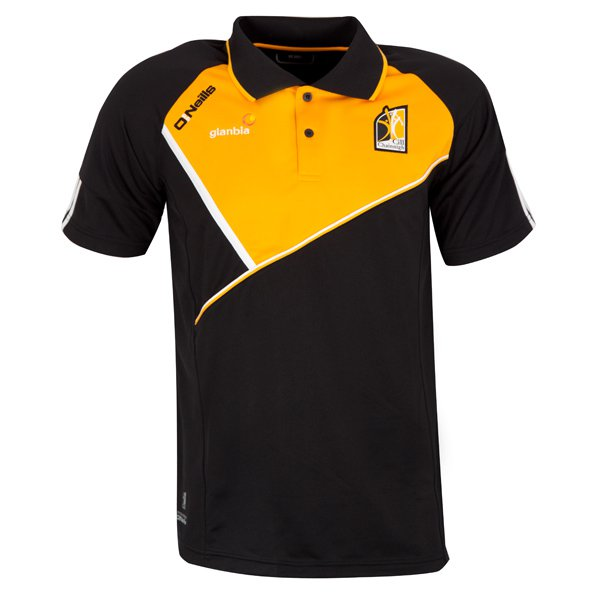 O'Neills Kilkenny Conall Men's Polo, Black