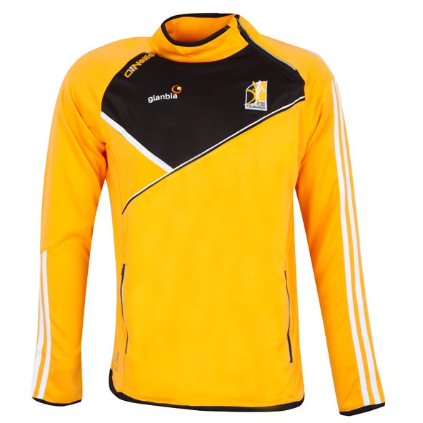 O'Neills Kilkenny Conall Men's Side Zip Top, Yellow