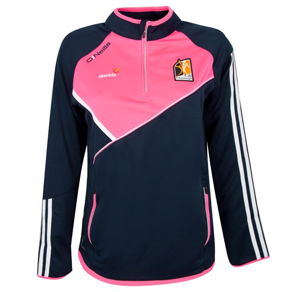 O'Neills Kilkenny Conall Women's ½ Zip Top, Navy