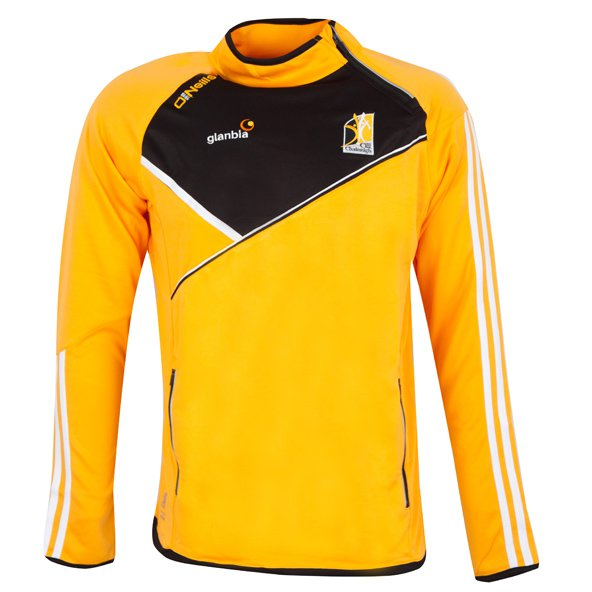 O'Neills Kilkenny Conall Kids' Side Zip Top, Yellow