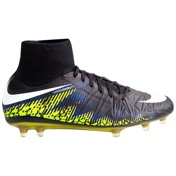Nike Hypervenom Phatal II FG Football Boot, Black