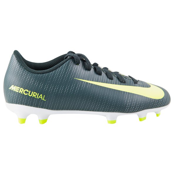 Nike Mercurial Vortex III CR7 Kids 'Football Boot, Green