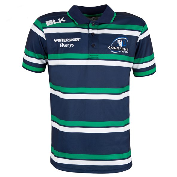 BLK Connacht 16 Press Polo Navy