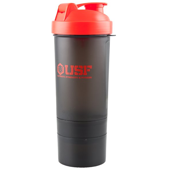 USF Shaker 600ml, Black