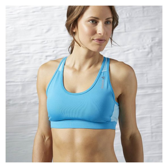 Reebok Workout MS Women's Bra, Blue