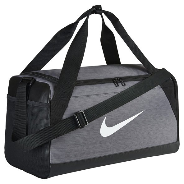Nike Brasilia Duffel Bag - Small, Grey