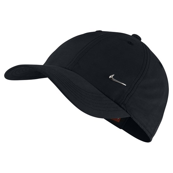 Nike H86 Metal Swoosh Kids' Cap, Black