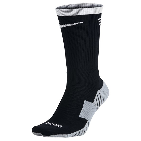 Nike Dry Squad Football Crew Sock, Black