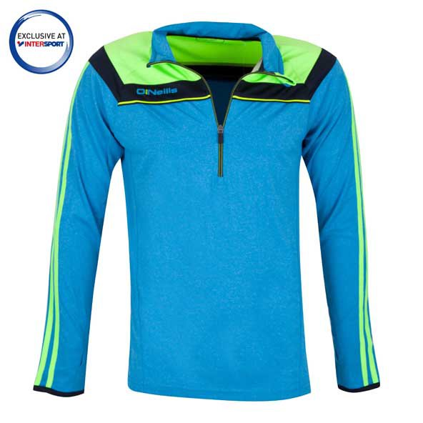 O'Neills Valencia K2 Men's Tech ½ Zip Top, Blue
