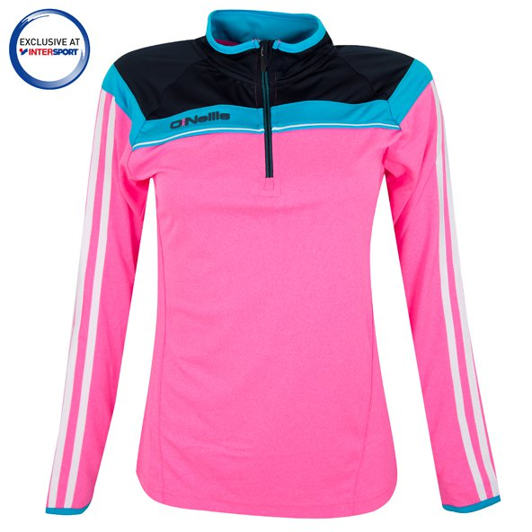 O'Neills Valencia K2 Women's Tech ½ Zip Top, Pink