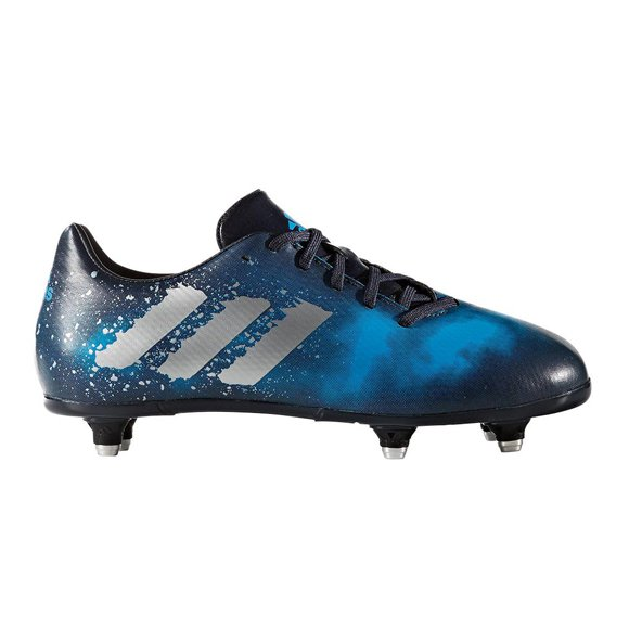 adidas Malice SG Kids' Rugby Boot, Navy