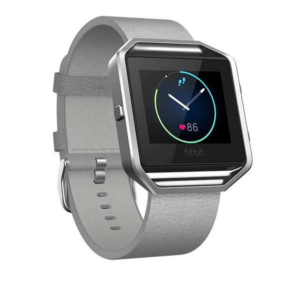 FitBit Blaze™ Leather Band - Large, Grey