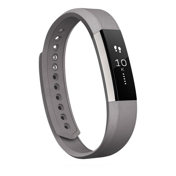 FitBit Alta™ Leather Band - Large, Grey
