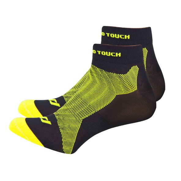 Pro Touch Bakis Low Cut Running Sock, Black