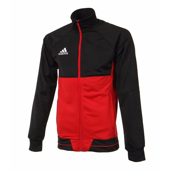 adidas Tiro 17 Boys' Training Jacket, Red