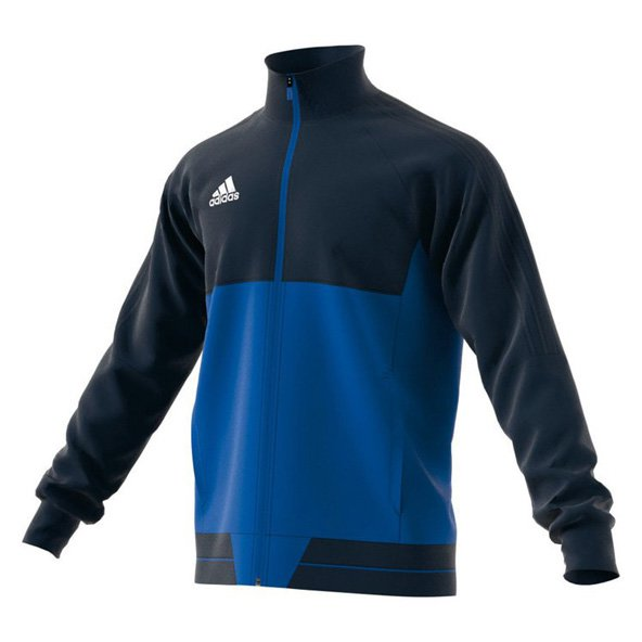 adidas Tiro 17 Boys' Training Jacket, Blue
