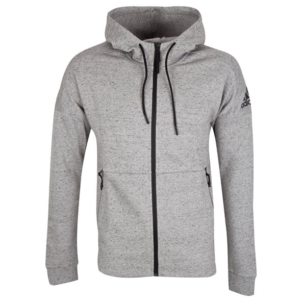 adidas ID Stadium Men's Full Zip Hoody, Grey