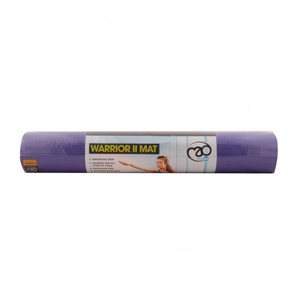 Fitness Mad Warrior II 4mm Yoga Mat, Purple