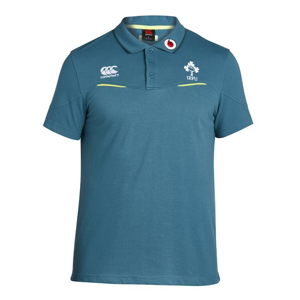 Canterbury IRFU 2017 Training Polo, Green