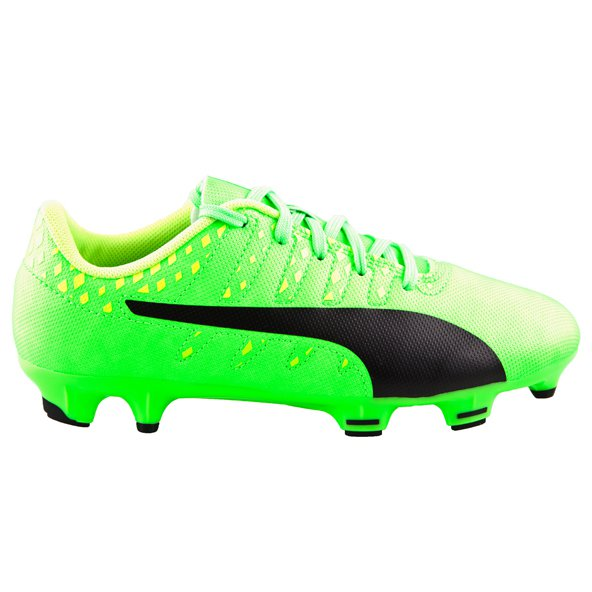 Puma evoPOWER Vigor 4 FG Kids' Boot, Green