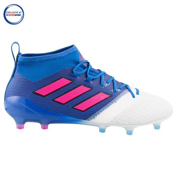 adidas ACE 17.1 Primeknit FG Football Boot, Blue