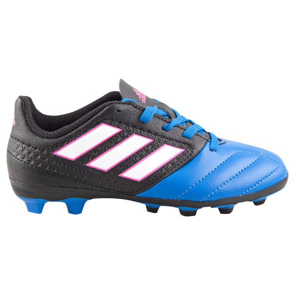 adidas ACE 17.4 Kids' FG Football Boot, Black