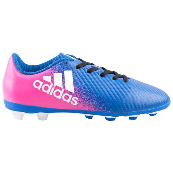 adidas X 16.4 FG Junior Kids' Football Boot, Blue