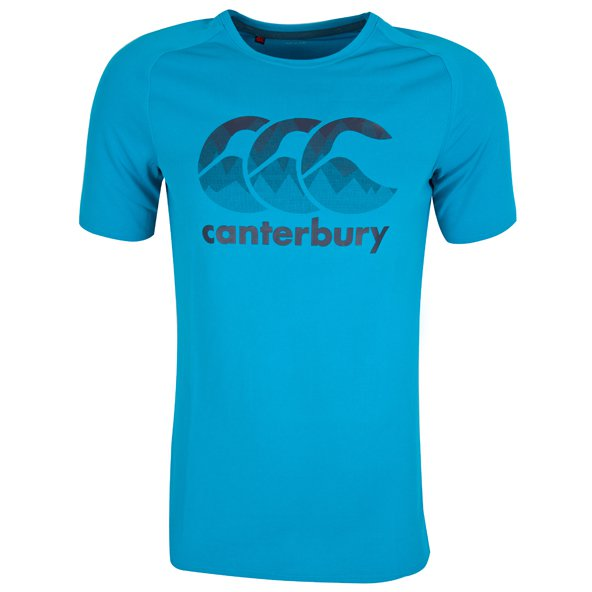 Canterbury VapoDri Men's T-Shirt, Blue