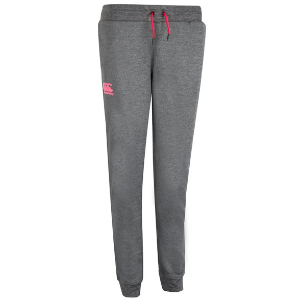 Canterbury Tapered Cuff Girls' Pant, Grey