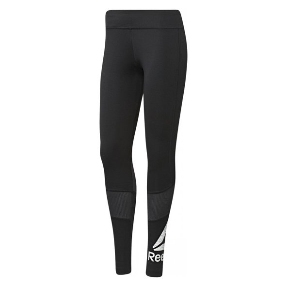 Reebok Workout Big Logo Women's Tight, Black