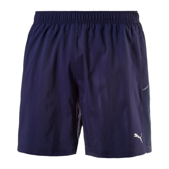 "Puma Core-Run 7"" Mens Shorts Peacoat"