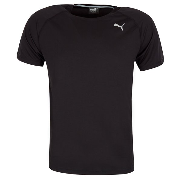 Puma Core-Run Men's Running T-Shirt, Black