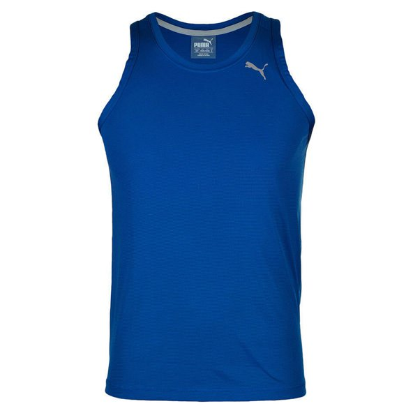 Puma Core-Run Men's Running Singlet, Blue