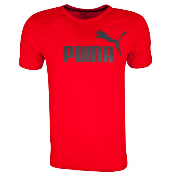 Puma ESS No.1 Mens Tee Barbados Cherry