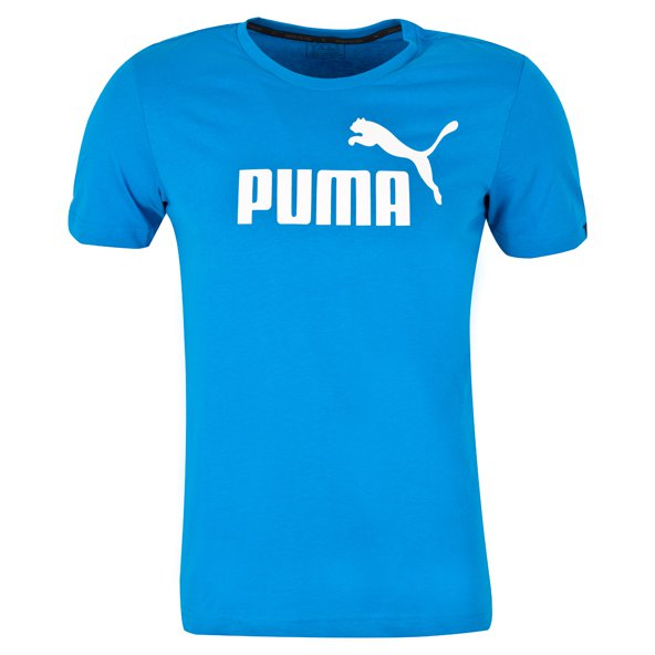 Puma Essential No.1 Logo Men's T-Shirt, Blue