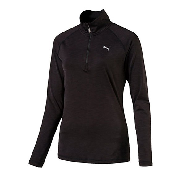 Puma Core-Run Women's ½ Zip Top, Black