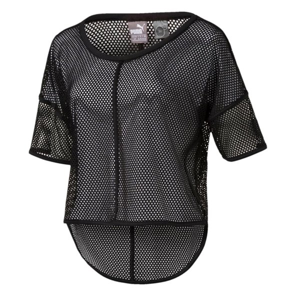 Puma Active Explosive Women's Mesh Top, Black
