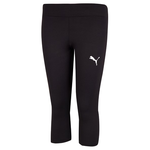 Puma Active Dry Girls' ¾ Length Training Tight , Black