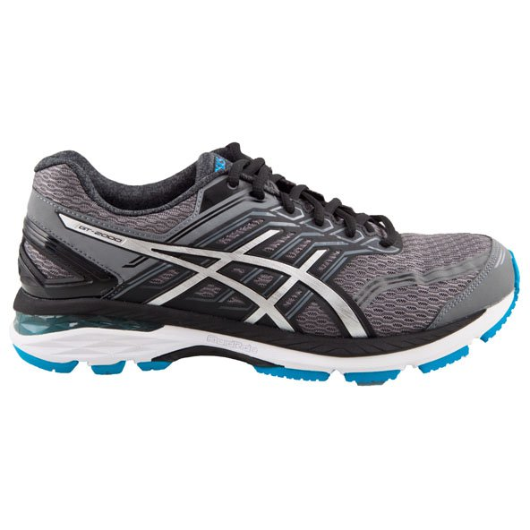 Asics GT-2000 5 (2E) Men's Running Shoe, Grey